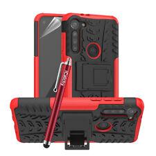 For Motorola Moto G8 Power Lite Case, Heavy Duty Tough Hybrid Shockproof Cover