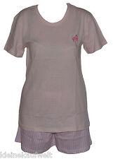 Toller Damen Shorty Schlafanzug Pyjama,3 Farben, Baumwolle, Grö�Ÿen S-XL (36-50)
