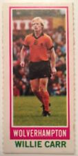 Topps 1980 Pink Back Chewing Gum Card Willie Care Wolverhampton Wanderers Wolves