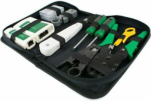 TESTER TOOL KIT | Networking RJ45 Connectors Crimper Punch Down Stripper Cable