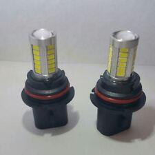 2pc Xenon HID White 9007 HB5 LED Projector Lens Fog Driving Light Bulbs + Gift