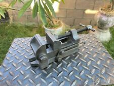Vintage Palmgren No0 Angle Vise 25 V Grooved Jaw Milling Machinist Vice Usa