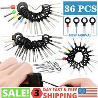 36Pcs Car Terminal Removal Tool Kit Wire connector Pin Release Extractor Puller