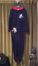 🌺New Look Me To You All In One Hooded Pyjama Jumpsuit Onepiece M 8 10 Cosy 🌺