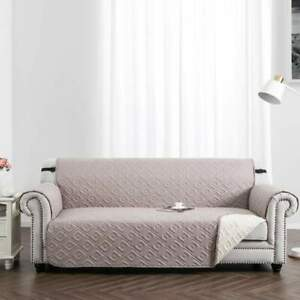 Quilted Sofa Covers Washable Waterproof Couch Throws Furniture Pet Protector