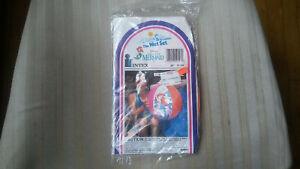 "Vintage 1991 Intex The Wet Set 20"" Disney The Little Mermaid Beach Ball - NIP"