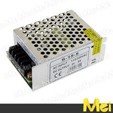 H503 alimentatore PROFESSIONALE switching 5V 3A 15W stabilizzato da interno
