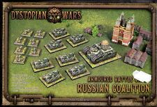 SPARTAN GAMES DYSTOPIAN WARS ARMOURED BATTLE GROUP RUSSIAN COALITION BOX