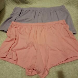 Lilac / Pink Jersey Cami Knickers shorts Sizes 8 10 12 14 16