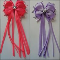 BIG BOWS BOUTIQUE HAIR CLIP ALLIGATOR CLIPS grosgarin RIBBON BOW Girls kids
