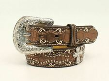 Ariat Faux Crocodile Cross - Accessories Belt Kids - A1302802