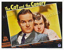 THE CAT AND THE CANARY LOBBY SCENE CARD #3 POSTER 1939 BOB HOPE PAULETTE GODDARD