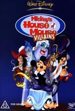 Mickey's House of Mouse Villains - DVD (NEW & SEALED)