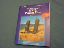 Unix Primer Plus second edition Waite Martin and Prata