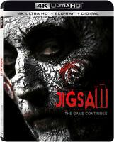 Jigsaw [New 4K UHD Blu-ray] With Blu-Ray, 4K Mastering, UV/HD Digital Copy, 2