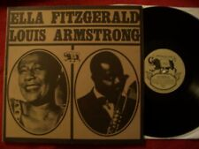 Ella Fitzgerald & Louis Armstrong - Archive of Jazz 11    LP