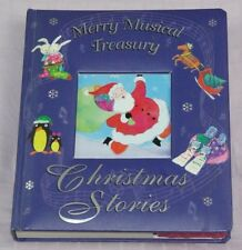 MERRY MUSICAL TREASURY CHRISTMAS STORIES 2003 HARDCOVER CHILDRENS BOARD BOOK