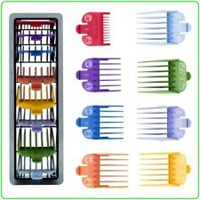 NO. 3170-400 WAHL HAIR CLIPPER 8 PACK COLOR CODES CUTTING GUIDES & TRAY