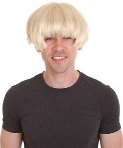 HPO Men's  Short Straight Igor Blonde Wig   Adult HM-1368