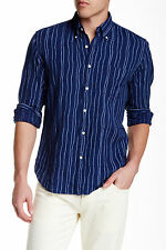 GANT Rugger Rope Print E-z Fit Shirt Long Sleeve 100 Cotton Large