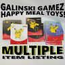 Pokemon Cards Pack McDonalds Happy Meal Toys NEW 1 2 3 4 February 2021