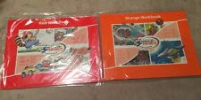 Hooked On Phonics Learn To Read Lot Of 2 1st Grade Workbooks Red & Orange New