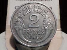 5097(3)(17) - 2 FRANCS - MORLON - ALU - 1945 - QUALITE TTB !