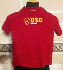 USC Trojans University NCAA Football TShirt Double-Sided Youth Sz 5 by Nike