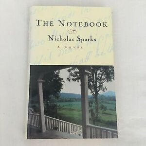 """Nicholas Sparks THE NOTEBOOK """"Signed/Inscribed"""" 1996 Hardcover/DJ - Warner Books"""