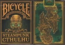 Steampunk Cthulhu Bicycle Playing Cards Poker Size Deck USPCC Custom Limited