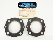 NOS Genuine Honda Cylinder Head Gasket Set Of 2 MT125 MT 125 Elsinore 75 76 77