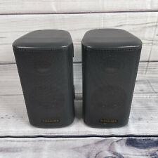 Toshiba Surround Sound Speakers 8Ω ohms 5w Wall Mountable Black - UK Seller