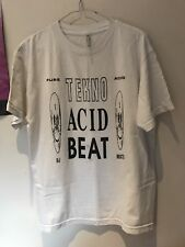 Psychic TV T Shirt RARE Coil Throbbing Gristle Industrial TEKNO acide Beat