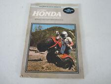 1970-1979 Clymer Honda Motorcycle Atv Service & Repair Manual Atc70-110 Singles