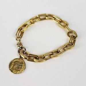 NEW Joolz by Martha Calvo The Delos Charm Bracelet Gold OS