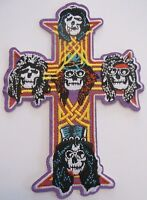 Guns N' Roses~Appetite for Destruction~Cross Patch~Embroidered~Iron Sew On~NEW
