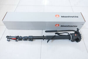 Manfrotto 561BHDV-1 Fluid Video Monopod and Head (great condition)