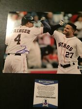 George Springer signed 8x10 Autograph Astros MLB