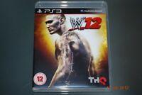 WWE 12 PS3 Playstation 3 **FREE UK POSTAGE**