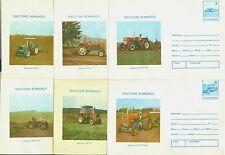 1985 Tractors,Traktoren,Tracteurs,Trattore,Tractoare,Romania,6 PS covers