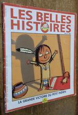 Les Belles Histoires (...) n°339: La Grande Victoire du petit Indien