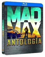MAD MAX ANTOLOGIA I-IV BLU-RAY STEELBOOK BLACK METAL EDITION, ESPAÑA