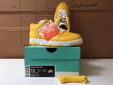 SNEAKER NIKE SB AF2 LOW SUPREME LTD ED SIZE EUR 40.5 UK 6.5 US 7.5 KAWS BANKSY