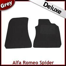 ALFA ROMEO SPIDER 916 1995-2006 SU MISURA tappetini lusso 1300g Grigio
