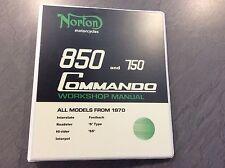 Norton Commando 850 & 750 Workshop Manual