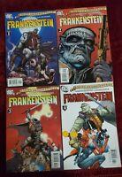 DC Comics Seven Soldiers Of Victory Frankenstein 1-4 Complete Set