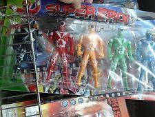 Set guerrieri super eroi  colorati Kit gioco di qualità giocattolo toy