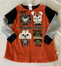 harajuku mini Long Sleeve Unisex Halloween Shirt 5t