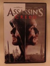 ASSASSIN'S CREED, DVD, IRONS, FASSBENDER, COTILLARD