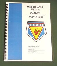 "Yaesu FT-101E Service Manual: 36"" Full Size Foldout Schematic/ Protective Covers"